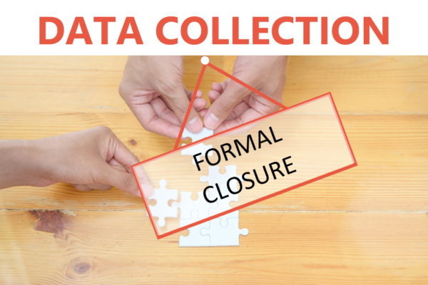 Formal closure of the 2020 JVAP data collection cycle